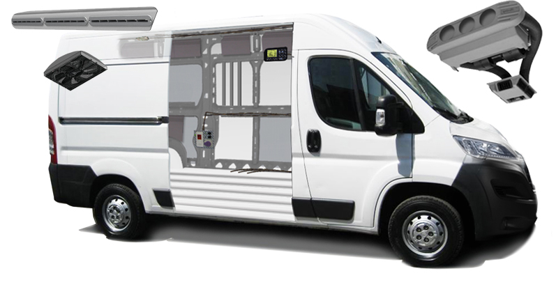 Bollanti l 39 eccellenza nel settore ambulanze e veicoli for Impianto climatizzazione